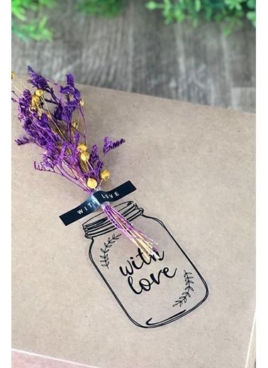 Funbou Sticker, With Love / 10 Sayfa Siyah